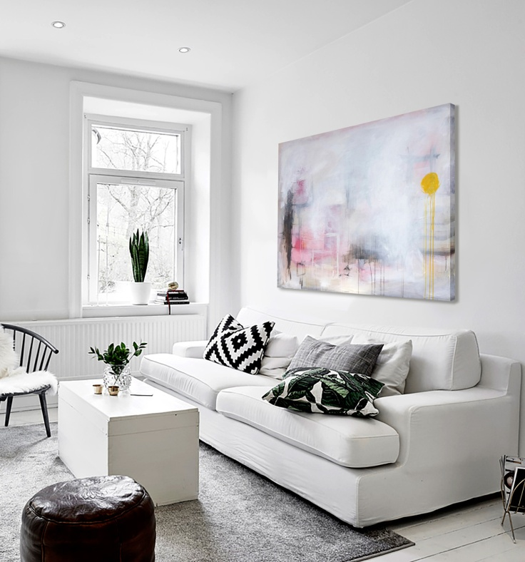 Interior-2018w-LanternFestival-V14-Abstract-Contemporary-Art-Original-Painting